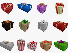 Gift Boxes 3D Models