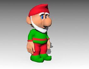 3D model Elf Toon