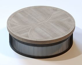 Andrew Martin Bhilai Large Coffee Table 3D model
