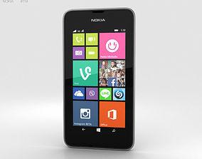 3D model Nokia Lumia 530 Dark Grey