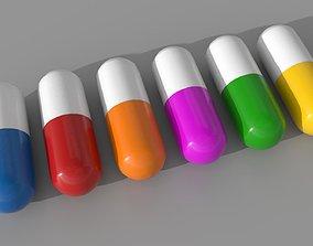 VR / AR ready Medicine Pill Model