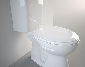 3D Standard Toilet Carmina