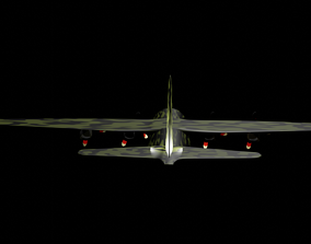 C 130 Hercules 3D asset