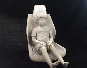 3D printable model Syrian boy in the ambulance