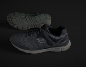 3D asset Pair of Sneakers