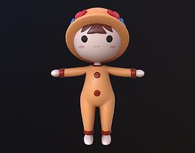 Asset - Cartoons - Toys - Doll - Rig 3D