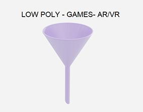 Low Poly Lab Funnel - Chemistry Lab 3D asset