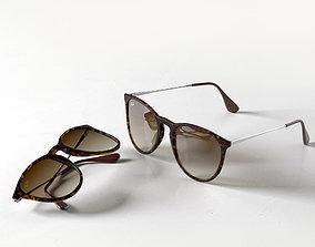 Erika Classic Sunglasses 3D model