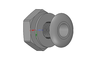 Marine Boat Thru Hull Fitting Connector neck12 3d-print