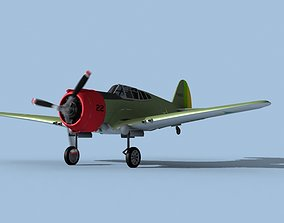 Curtiss H-75C Mohawk V19 Brazil 3D