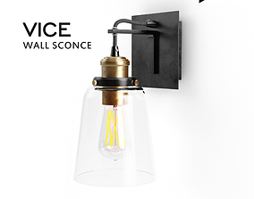 VICE wall sconce 3D asset