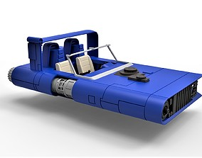 Diecast model of M-68 Landspeeder of Han Solo Scale 1 1
