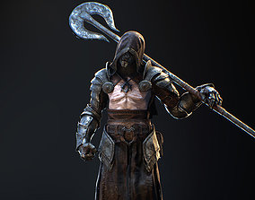 Heretic Character 3D asset