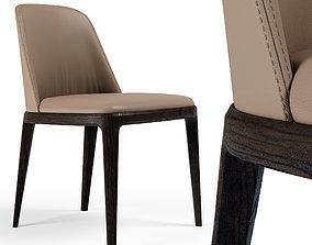 3D model Chair Poliform Grace BEIGE