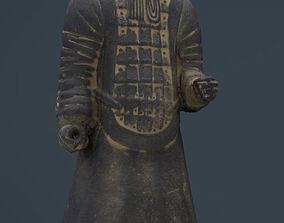 3D model Terracotta Warriors Officer