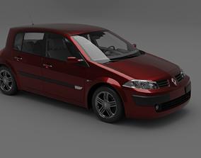 RENAULT Megane renault 3D model