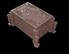 3D print model Casket with relief