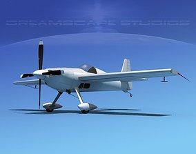 3D Extra Flugzeugbau EA300S Bare Metal