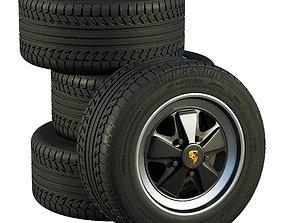 Porsche wheels 3D model