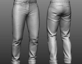 Zbrush Pants 3D