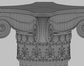 decor 3D model Column