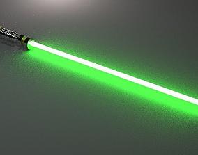 Lightsaber from ROTJ 3D asset