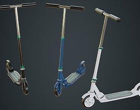 Kick Scooter 2A 3D model