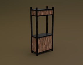 Trade stand 01 R 3D model