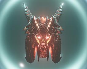 Samurai 3D model monster