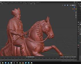 Menelik II EMPEROR OF ETHIYOPIA 3D print model