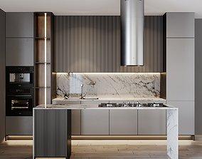 3D Kitchen Modern 17