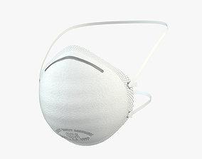 Dust Mask FFP2 3D model
