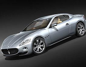 3D Maserati GranTurismo S
