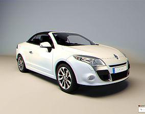 3D model Renault Megane cc