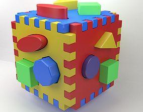 3D printable model development cube