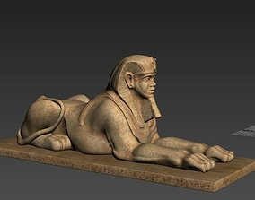 models sphinx 3D print model