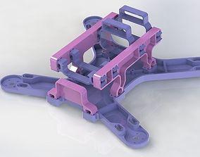 3D printable model Mini Quad Frame