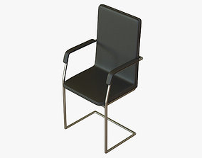 Meeting Room Chair Office 3D asset realtime