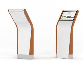 Information Kiosk kiosk 3D model