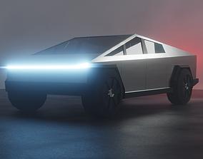 3D model realtime Tesla Cybertruck game