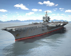 USS Enterprise CVN-65 Carrier HD 3D model