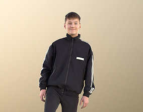 Bobby 11092 - Teenage Boy Playing Soccer 3D asset 2