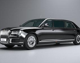 Aurus Senat Limousine 3D model