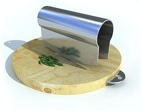 3D Kitchen Utensil Chopping Tool