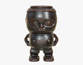 Kuba Tribe Cup - DR Congo 3D asset