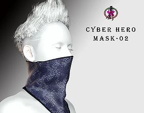 3D asset Cyber Hero - Mask02