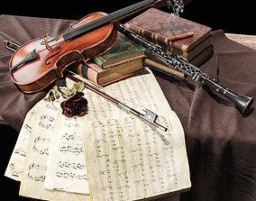 3D model Musical instrument