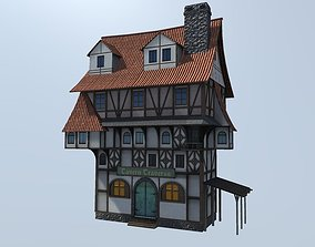 Medieval Building Modular 3D model