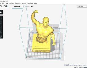 Conor McGregor Victory sculpture - 3D print