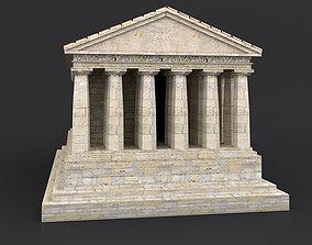 Greek Doric Temple 3D asset